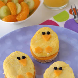Spring Chick Breakfast Sandwiches.