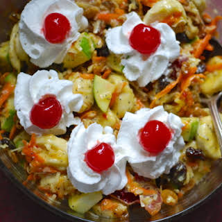 Grandma's Morning Glory Salad.