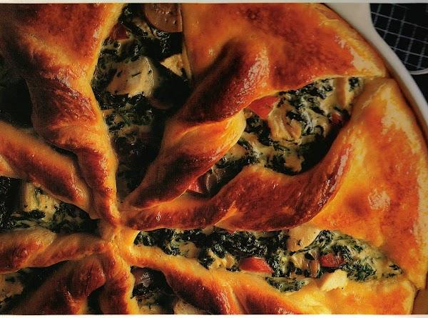 Chicken & Spinach Puff Bravo Recipe