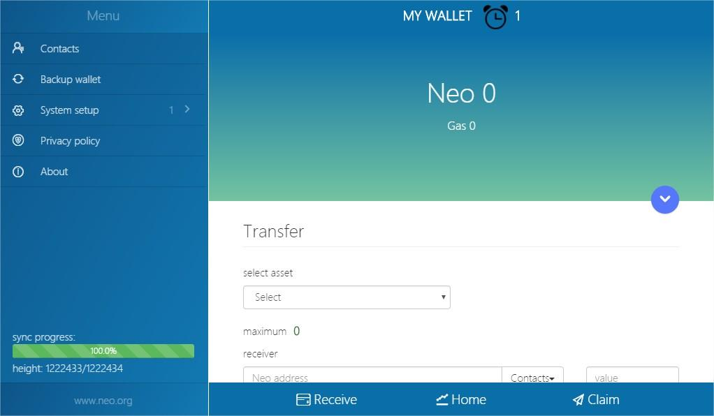 Neo App- screenshot