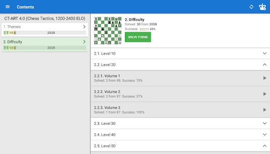 CT-ART 4.0 (Chess Tactics 1200-2400 ELO) Apk Download For Android 9