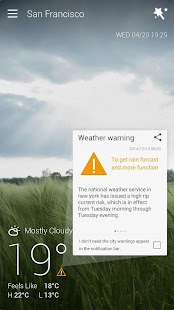 GO Weather Forecast & Widgets free download for samsung