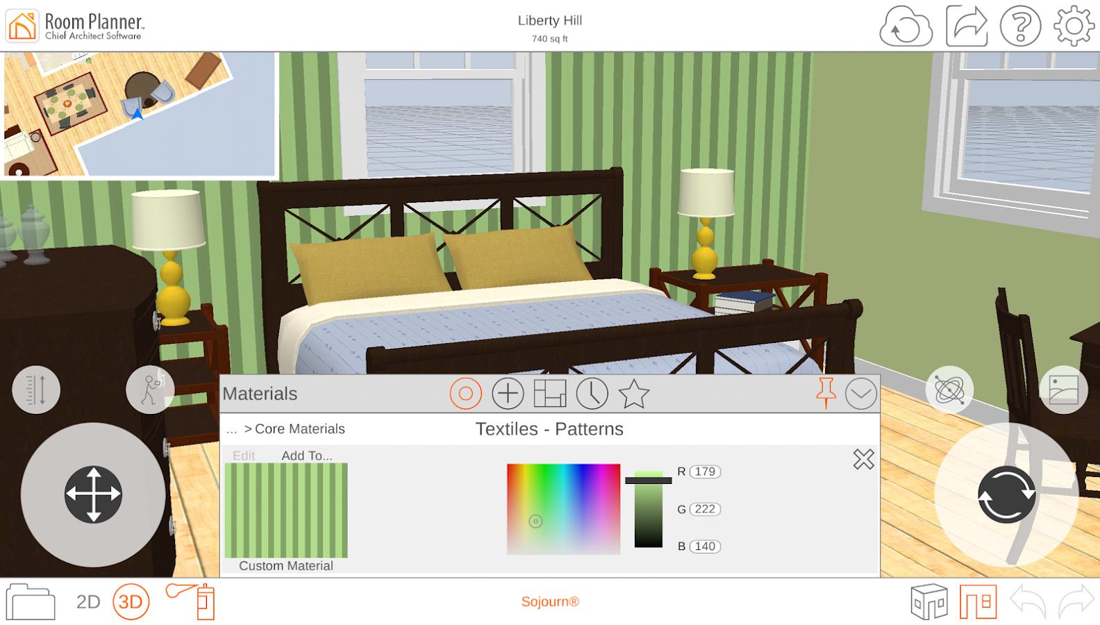 Room Layout App
