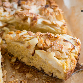 Apple, Almond And Polenta Rustic Cake Gluten Free