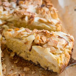 Apple, Almond And Polenta Rustic Cake Gluten Free