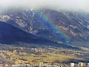 Photo: Innsbruck, from the Olymic ski jump restaurant. Frebruary 2008