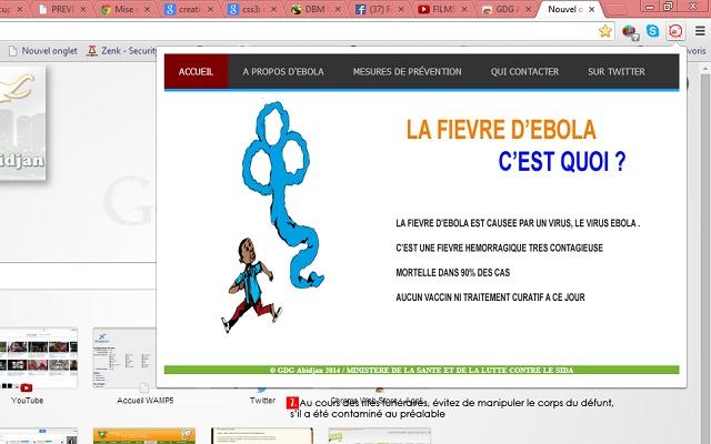 GDG Abidjan Prevention Ebola Extension