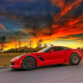 Corvette c7z  by Victor Quinones - Novices Only Objects & Still Life ( car corvette fast )
