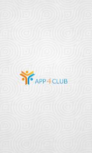 APP4CLUB - náhled