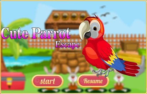 Free New Escape Game 140 Cute Parrot Escape  screenshots 1