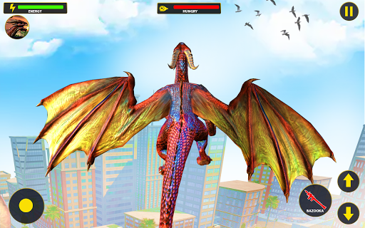 Flying Dragon City Attack 1.0.8 screenshots 4