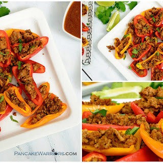 Paleo Mini Pepper Nachos.