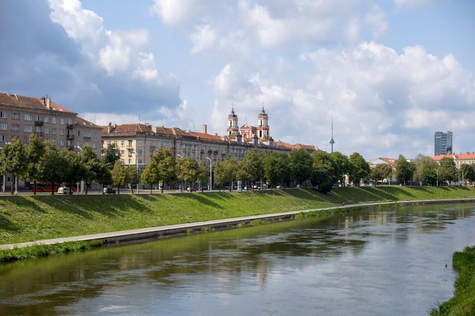 Wilno, rzeka Wilia