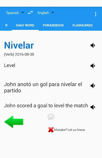 Spanish English Translator Screenshot