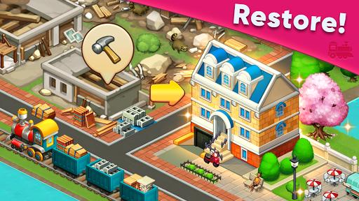 Train town - 3 match merge puzzle games screenshots 2