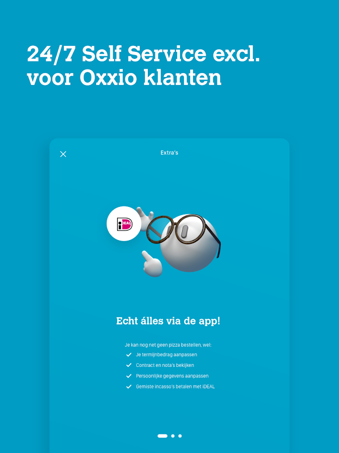 Oxxio: screenshot