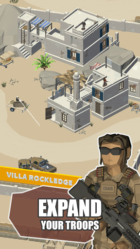 Idle Warzone 3d: Military Game - Army Tycoon 1.1 screenshots 7