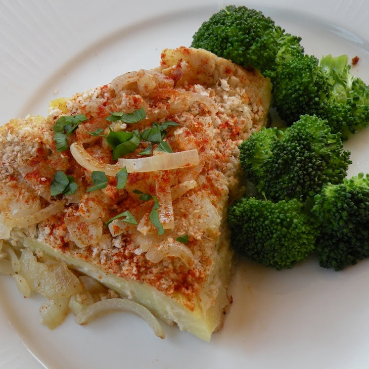 Silken Tofu or White Bean Scalloped Potatoes
