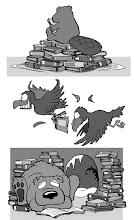 "Photo: Illustration spots  ""Books Range"" Greg Hill 2009"