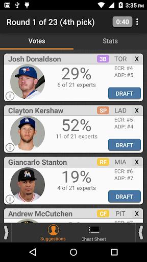 Fantasy Baseball DraftWizard