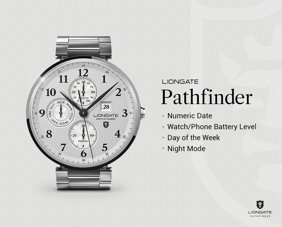 Pathfinder watchface by Liongate