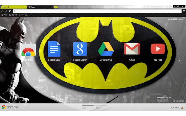 Batman Theme For Chrome