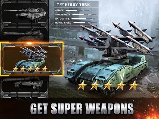 Tank Strike - battle online 3.0.5 APK MOD screenshots 2