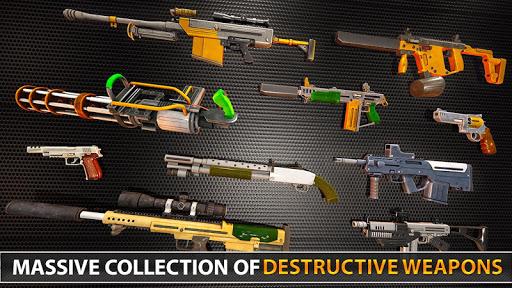Police Counter Terrorist Shooting - FPS Strike War apkpoly screenshots 11