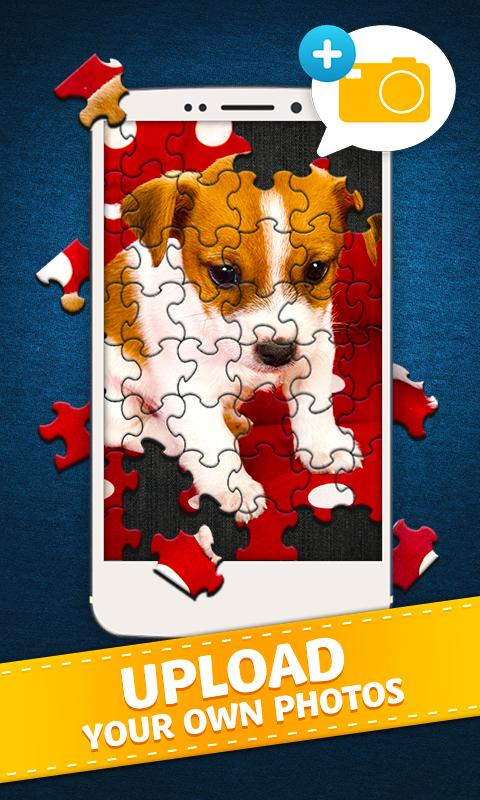 Screenshots of Jigty Jigsaw Puzzles for iPhone