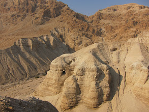 Photo: Cave #4 where Dead Sea Scrolls were found
