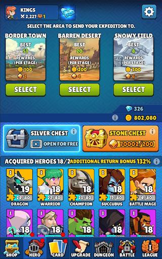 Merge and Go - Idle Game  screenshots 9