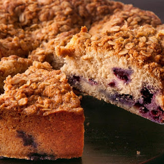 Blueberry-Spice Coffee Cake