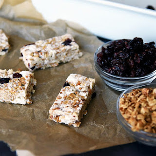 Cranberry Granola Treat Bars.