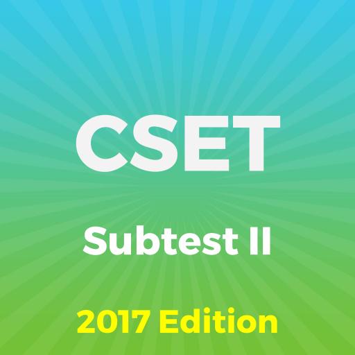CSET® Subtest II Exam Questions 2018 - Mga App sa Google Play