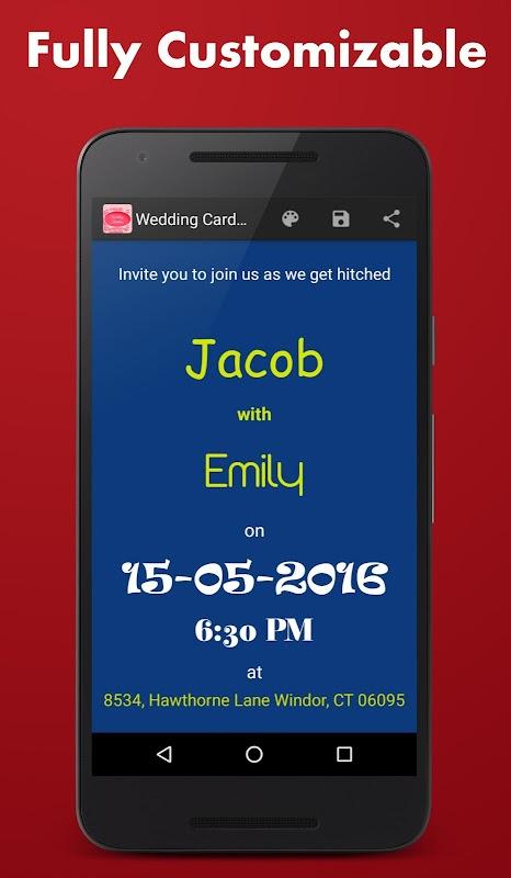 Download wedding card maker apk 30 by vijay butani free wedding card maker screenshots stopboris Gallery