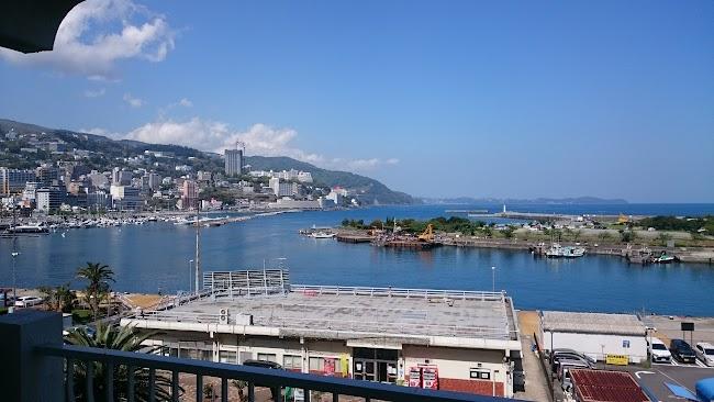 熱海は景色が最高でした。