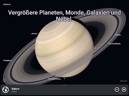 Stellarium Mobile PLUS - Sternenkarte Screenshot