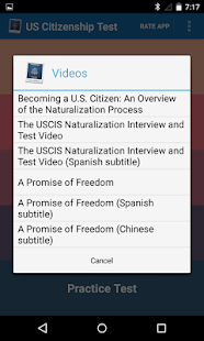 US Citizenship Test Reviewer- screenshot thumbnail