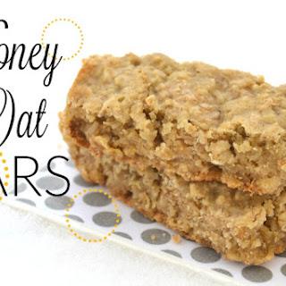 Simple Honey Oat Bars.