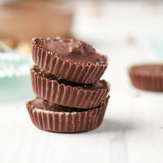 Salted Toffee Nut Cups.