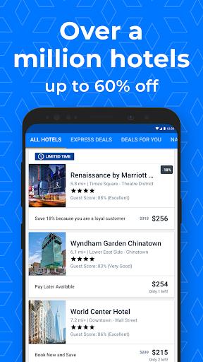 Priceline - Hotel Deals, Flights & Travel Bookings  screenshots 1