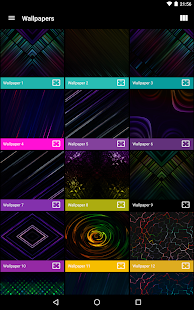 Neon Glow - Icon Pack Screenshot