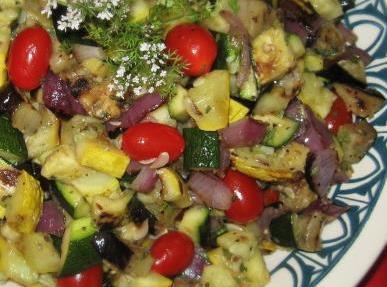Grilled Veggie Salad Recipe