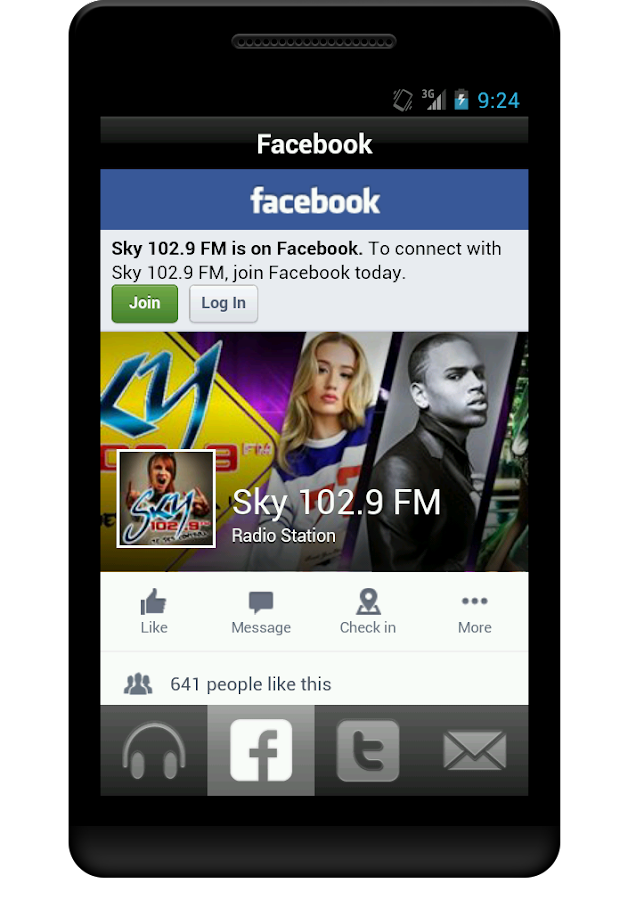 Sky 102.9 FM- screenshot