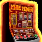 slot machine fire timer icon