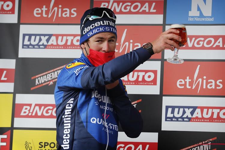 """Eerste podium voor Mark Cavendish in bijna twee jaar: """"Eerlijk gezegd was ik vergeten hoe het was om te sprinten"""""""