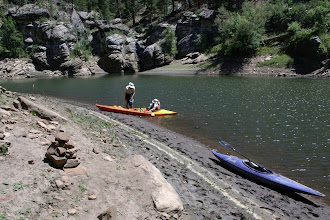 Photo: Landing at Big Dry Wash battle site (on East Clear Creek).