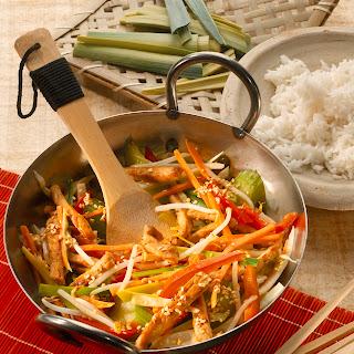 Asiatisches Pfannengericht