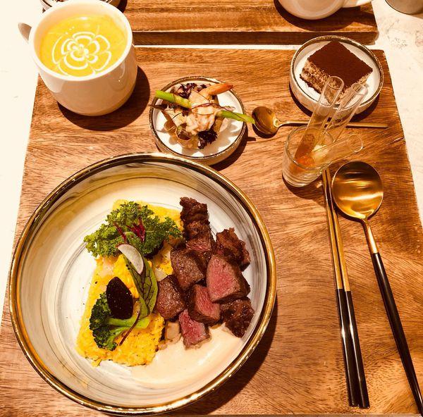 台中 甲奔甲肉 打造400元有找的舒肥創意料理~佐分子料理調味料~ IG打卡熱門餐廳