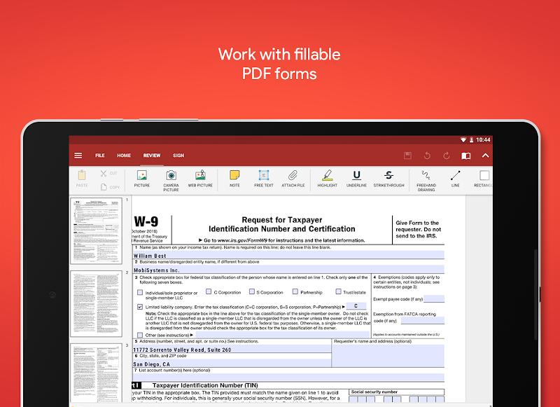 OfficeSuite - Office, PDF, Word Sheets Slides Note Screenshot 14